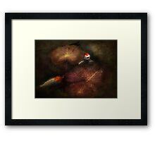 Animal - Fish - I will grant your wishes three Framed Print