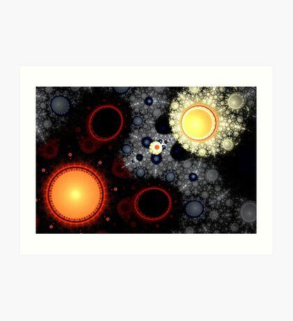 Julian Universe Art Print