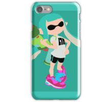 Inkling Girl (Aqua) - Splatoon iPhone Case/Skin
