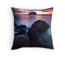 Motuotau Streaming Dawn Throw Pillow