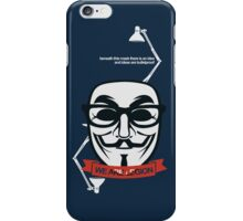 anonymous : we are legion iPhone Case/Skin