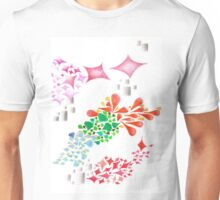 Colorful beautiful shapes for good mood Unisex T-Shirt