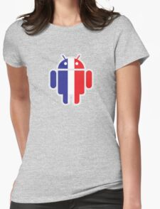 Frenchi-Bot Womens Fitted T-Shirt