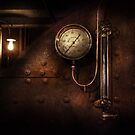 Steampunk - Boiler Gauge by Mike  Savad