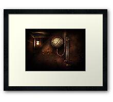 Steampunk - Boiler Gauge Framed Print
