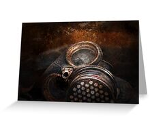 Steampunk - Doomsday  Greeting Card