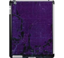 USGS Topo Map Oregon Parker Mtn 281043 1988 24000 Inverted iPad Case/Skin