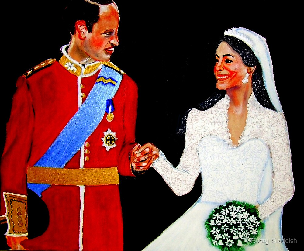 Kate and William by Rusty  Gladdish