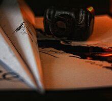 Paper Aeroplane by Tam  Locke