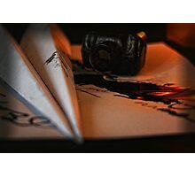Paper Aeroplane Photographic Print