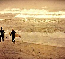 Winter Waves by Tam  Locke
