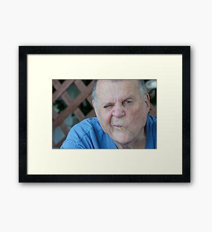 My Dad- Popeye Framed Print