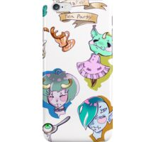 monster tea party  iPhone Case/Skin
