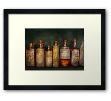 Pharmacy - Daily Remedies  Framed Print