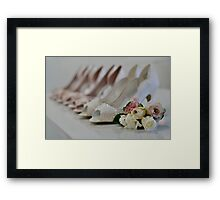 Bridal Shoes Framed Print