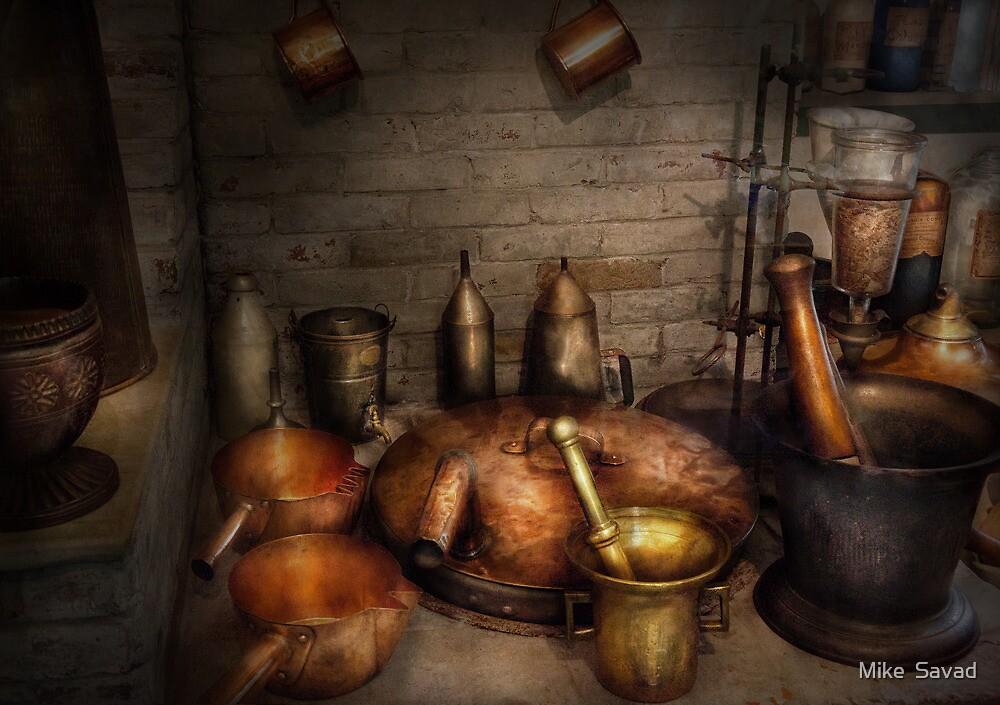 Pharmacy - Alchemist's kitchen by Mike  Savad