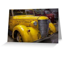 Fireman - Mattydale  Greeting Card