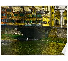 Under the Ponte Vecchio Poster