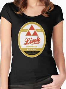 Link Imported Ale Women's Fitted Scoop T-Shirt