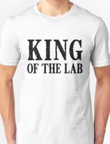 King of the Lab - Black Text T-Shirt