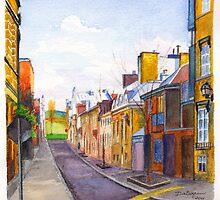 Rue des Grisons, Quebec by Dai Wynn