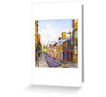 Rue des Grisons, Quebec Greeting Card