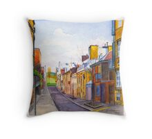 Rue des Grisons, Quebec Throw Pillow