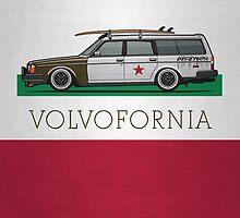 Volvofornia Slammed Volvo 245 240 Wagon California Style by Tom Mayer