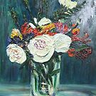 Vase of Flowers by Richard Nowak