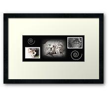 Fur Love Framed Print