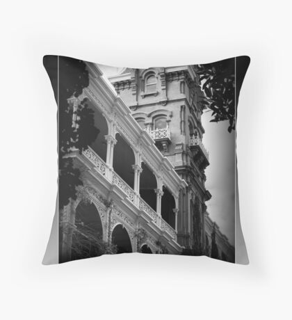 Rupertswood Mansion Throw Pillow