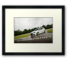Mk5 Golf R32 Framed Print