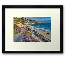 On A Sunday Afternoon Framed Print