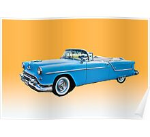 1954 Oldsmobile Super 88 Convertible Poster