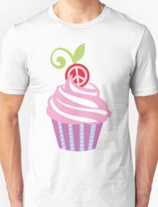 Cupcake Peace Sign T-Shirt