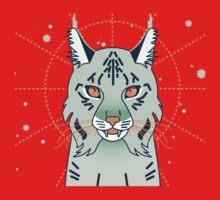 Mystical Lynx Cat One Piece - Long Sleeve