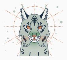 Mystical Lynx Cat One Piece - Short Sleeve