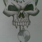 Clock Skull by vampibunni