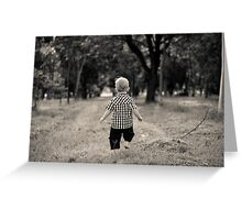 Freedom in the Trees Greeting Card