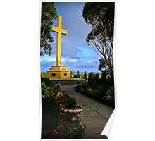 Mt. Macedon Memorial Cross Poster
