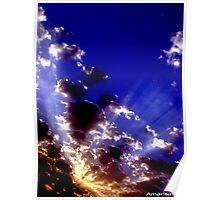 beauty of sky Poster