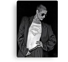 SUPERMAN photo by William Rylott Canvas Print