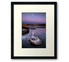 Evening Shades Framed Print