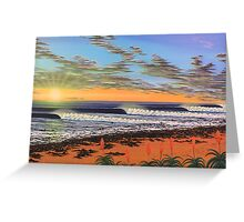 J-Bay  - South Africa Greeting Card