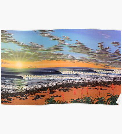 J-Bay  - South Africa Poster
