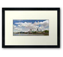 LONDON_View 002 Framed Print