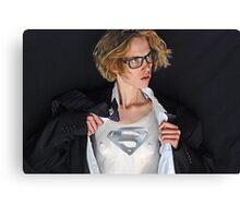 SUPERMAN 3 photo by William Rylott Canvas Print