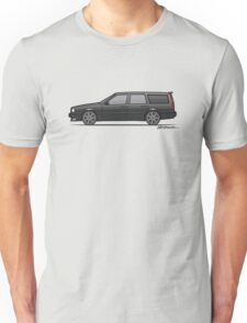 Volvo 850R 855R T5 'Swedish Turbo Wagon' (Black) Unisex T-Shirt