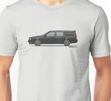 Volvo 850R 855R T5 'Swedish Turbo Wagon' (Black) Unisex T-Shirt