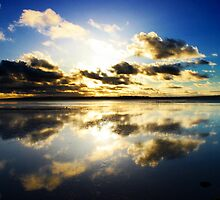 Bay  Relections-Swan Bay by neverforgotten